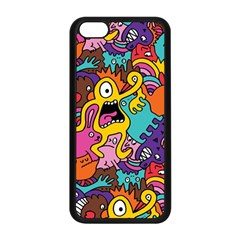 Monster Patterns Apple Iphone 5c Seamless Case (black) by BangZart