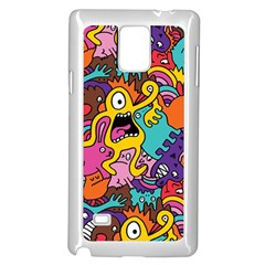 Monster Patterns Samsung Galaxy Note 4 Case (white)
