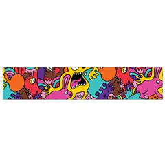 Monster Patterns Flano Scarf (small) by BangZart