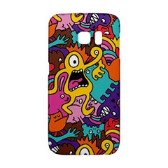 Monster Patterns Galaxy S6 Edge by BangZart