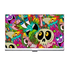 Crazy Illustrations & Funky Monster Pattern Business Card Holders by BangZart