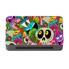 Crazy Illustrations & Funky Monster Pattern Memory Card Reader With Cf