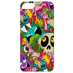 Crazy Illustrations & Funky Monster Pattern Apple Iphone 5 Classic Hardshell Case by BangZart