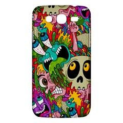 Crazy Illustrations & Funky Monster Pattern Samsung Galaxy Mega 5 8 I9152 Hardshell Case  by BangZart