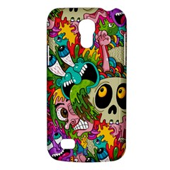 Crazy Illustrations & Funky Monster Pattern Galaxy S4 Mini by BangZart