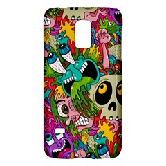 Crazy Illustrations & Funky Monster Pattern Galaxy S5 Mini by BangZart