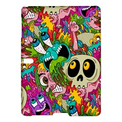 Crazy Illustrations & Funky Monster Pattern Samsung Galaxy Tab S (10 5 ) Hardshell Case  by BangZart