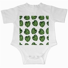 Leaf Pattern Seamless Background Infant Creepers