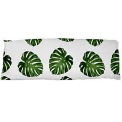Leaf Pattern Seamless Background Body Pillow Case (dakimakura)
