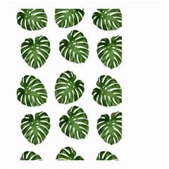 Leaf Pattern Seamless Background Small Garden Flag (two Sides) by BangZart