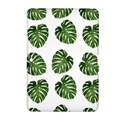 Leaf Pattern Seamless Background Samsung Galaxy Tab 2 (10 1 ) P5100 Hardshell Case