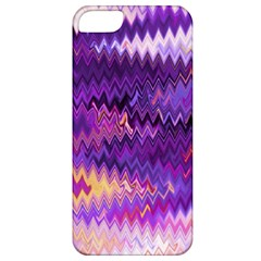 Purple And Yellow Zig Zag Apple Iphone 5 Classic Hardshell Case