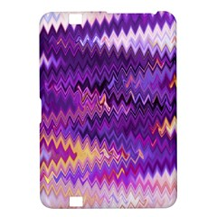 Purple And Yellow Zig Zag Kindle Fire Hd 8 9  by BangZart