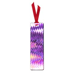 Purple And Yellow Zig Zag Small Book Marks