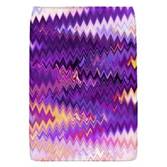 Purple And Yellow Zig Zag Flap Covers (s)  by BangZart