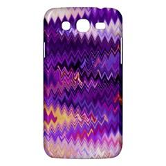 Purple And Yellow Zig Zag Samsung Galaxy Mega 5 8 I9152 Hardshell Case  by BangZart