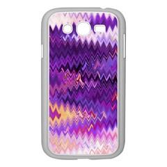 Purple And Yellow Zig Zag Samsung Galaxy Grand Duos I9082 Case (white)