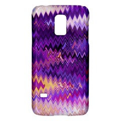 Purple And Yellow Zig Zag Galaxy S5 Mini by BangZart