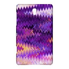 Purple And Yellow Zig Zag Samsung Galaxy Tab S (8 4 ) Hardshell Case