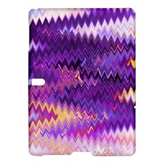 Purple And Yellow Zig Zag Samsung Galaxy Tab S (10 5 ) Hardshell Case