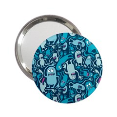 Monster Pattern 2 25  Handbag Mirrors by BangZart