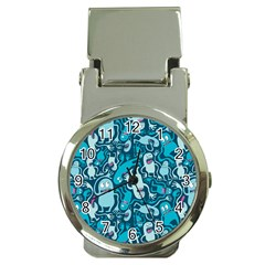 Monster Pattern Money Clip Watches by BangZart