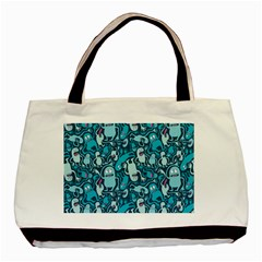 Monster Pattern Basic Tote Bag by BangZart