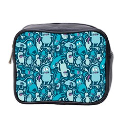 Monster Pattern Mini Toiletries Bag 2 Side