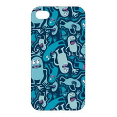 Monster Pattern Apple Iphone 4/4s Hardshell Case by BangZart
