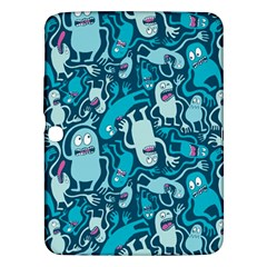 Monster Pattern Samsung Galaxy Tab 3 (10 1 ) P5200 Hardshell Case  by BangZart