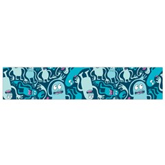 Monster Pattern Flano Scarf (small)