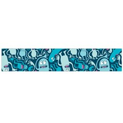 Monster Pattern Flano Scarf (large)