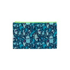 Monster Pattern Cosmetic Bag (xs) by BangZart