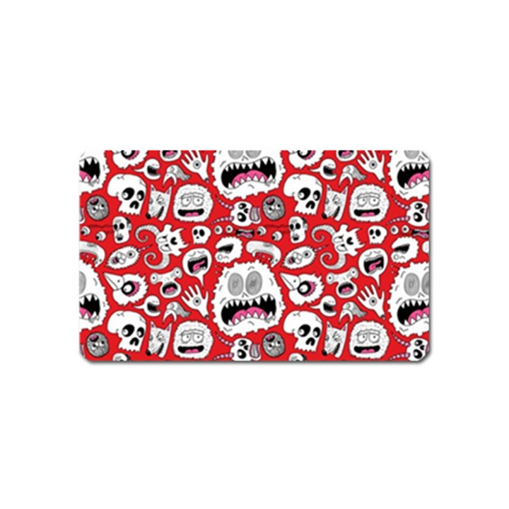 Another Monster Pattern Magnet (Name Card)