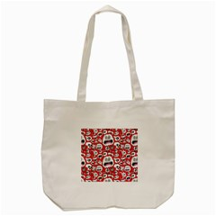 Another Monster Pattern Tote Bag (cream)