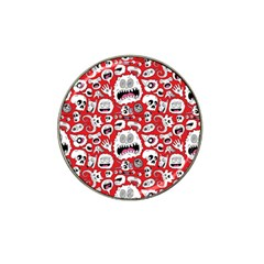 Another Monster Pattern Hat Clip Ball Marker