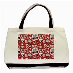 Another Monster Pattern Basic Tote Bag by BangZart