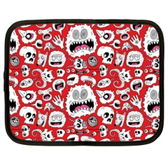 Another Monster Pattern Netbook Case (xxl)