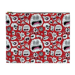 Another Monster Pattern Cosmetic Bag (xl) by BangZart
