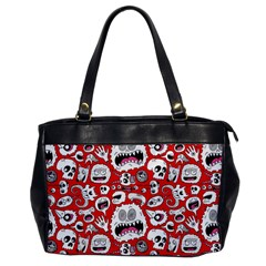 Another Monster Pattern Office Handbags