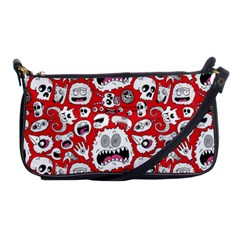 Another Monster Pattern Shoulder Clutch Bags