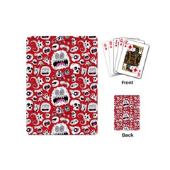 Another Monster Pattern Playing Cards (mini)  by BangZart