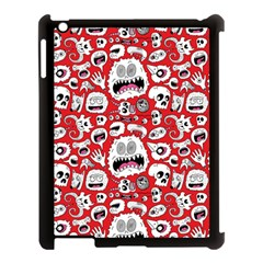 Another Monster Pattern Apple Ipad 3/4 Case (black)