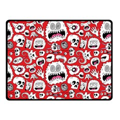 Another Monster Pattern Double Sided Fleece Blanket (small)  by BangZart