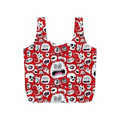Another Monster Pattern Full Print Recycle Bags (s)  by BangZart