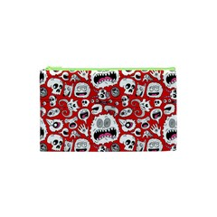 Another Monster Pattern Cosmetic Bag (xs) by BangZart