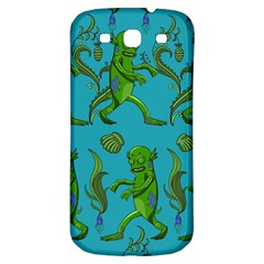 Swamp Monster Pattern Samsung Galaxy S3 S Iii Classic Hardshell Back Case by BangZart