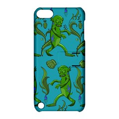 Swamp Monster Pattern Apple Ipod Touch 5 Hardshell Case With Stand