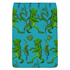 Swamp Monster Pattern Flap Covers (l)  by BangZart