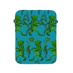 Swamp Monster Pattern Apple Ipad 2/3/4 Protective Soft Cases by BangZart